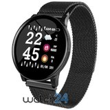 Smartwatch Generic cu Bluetooth, monitorizare ritm cardiac,  notificari, functii fitness S165